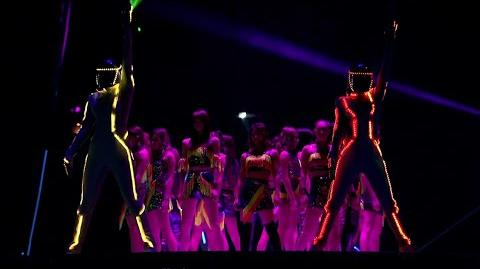E-girls PERFORMERS & SAMURIZE - RYDEEN -YVES&ADAMS Dance Remix- (EXILE TRIBE LIVE)