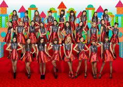 E-girls - Odoru Ponpokorin promotional 2