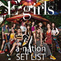 Egirls - E-girls a-nation 2018 SET LIST cover