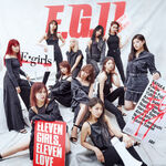 E-girls - EG11 2CD cover