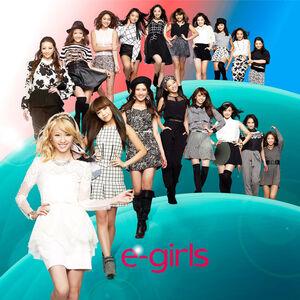 E-girls - Kurukuru CD Only cover