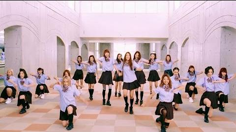E-girls - Seifuku Dance ~Highschool♡love~