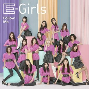 E-girls - Follow Me CD Only cover