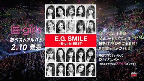 E-girls - E.G. SMILE -E-girls BEST- SPOT
