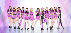 E-girls - Candy Smile promo 2