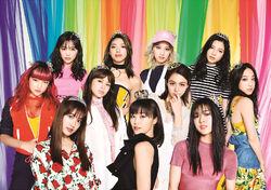 E-girls - Love Queen promo 2