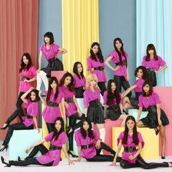 E-girls - Follow Me line-up