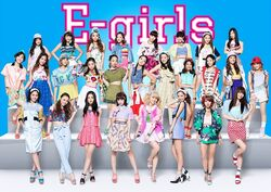 E-girls - Highschool love promo