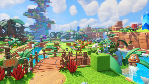 Mario + Rabbids Kingdom Battle preview