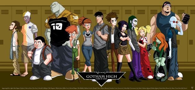 gotham high 5