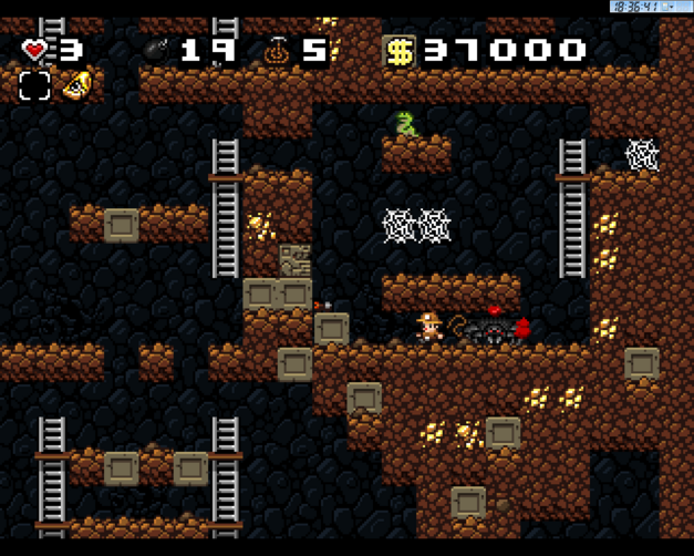 Spelunky-level