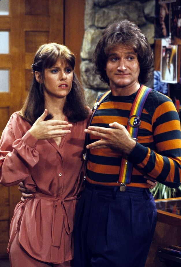 ROBIN WILLIAMS-Mork and Mindy