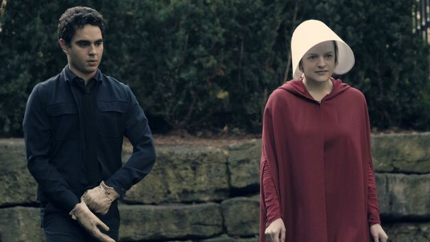 Nick and Offred in The Handmaid's Tale