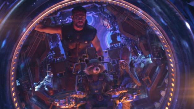 Avengers Infinity War Thor Rocket