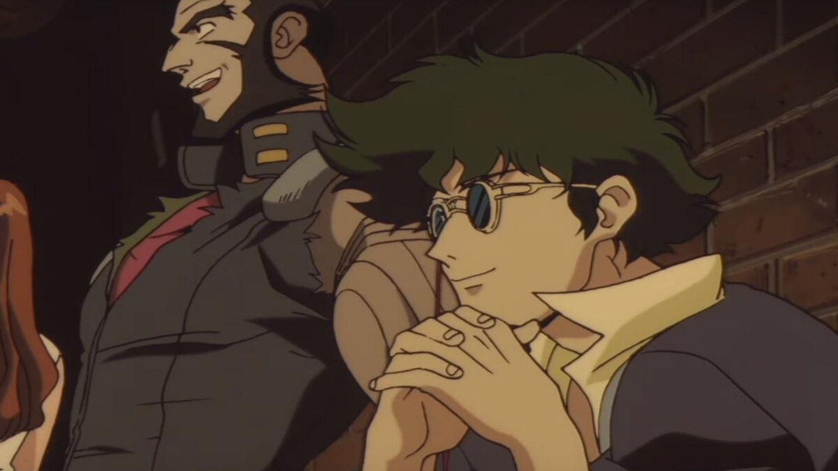 Spike and Jet from Cowboy Bebop