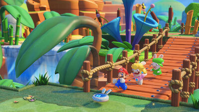 Mario + Rabbids Kingdom Battle is a Battling Crossover that Works Strangely Well