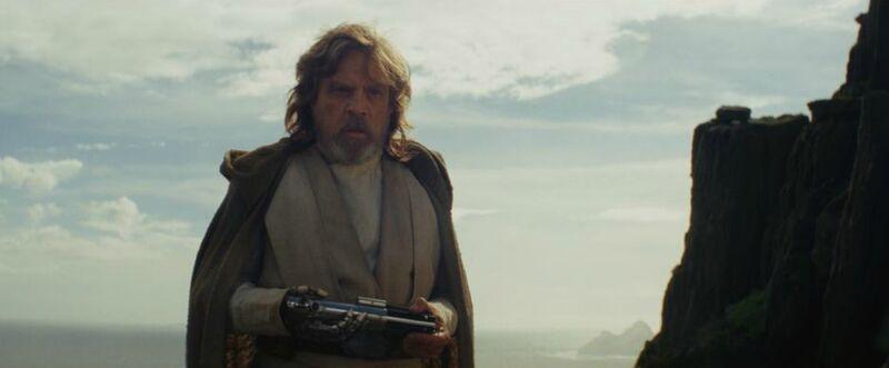 The Last Jedi Luke Skywalker