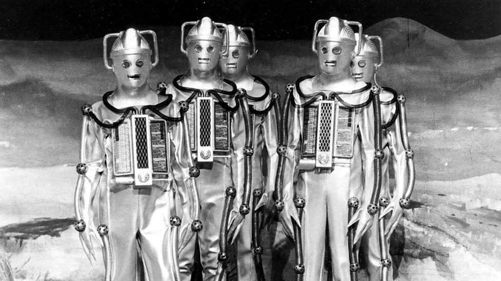 Cybermen on the Moon