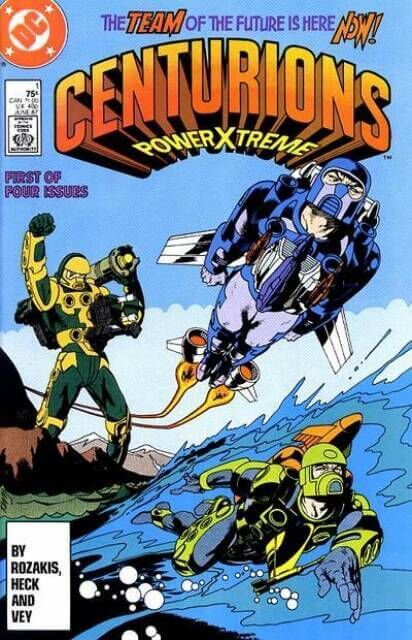 Centurions Issue 1