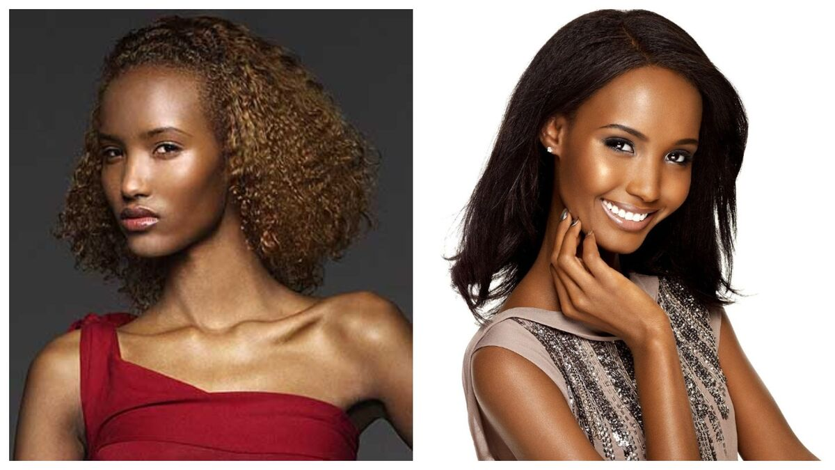 Fatima Said (ANTM) before and after