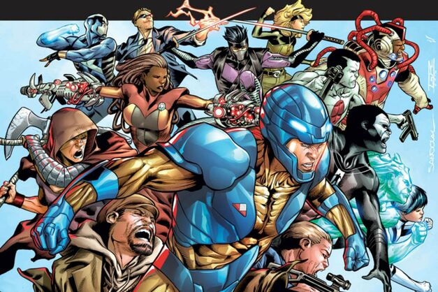 Valiant Comics Poster Entertainment Characters