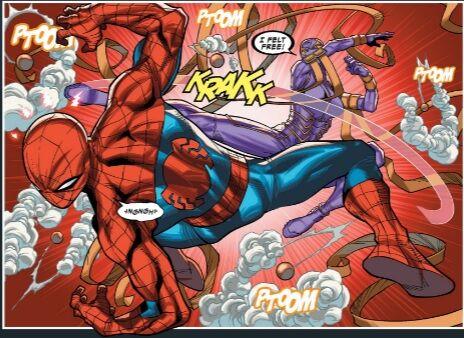 The Wraith versus Spider-man