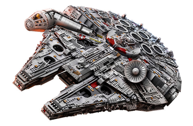 millenium falcon lego the last jedi
