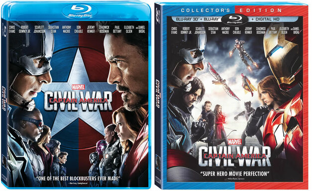 Civil War Blu-Ray