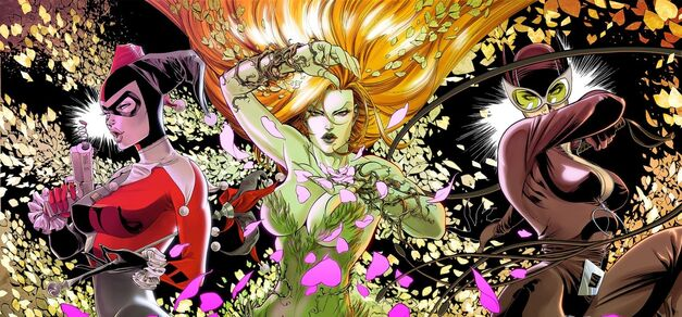 Gotham City Sirens: Harley Quinn, Poison Ivy, and Catwoman