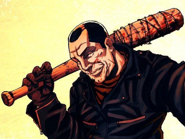 negan-the-walking-dead-comic-with-lucille-the-bat