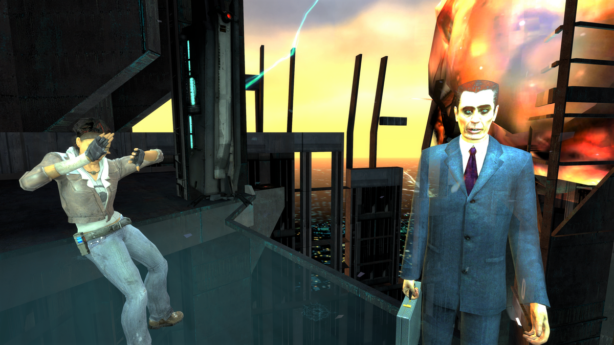 The ending of Half-Life 2