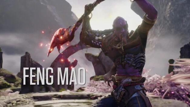 Feng Mao from Paragon.
