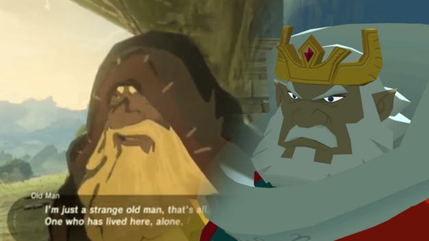 The Legend of Zelda Breath of the Wild Timeline King Old Man