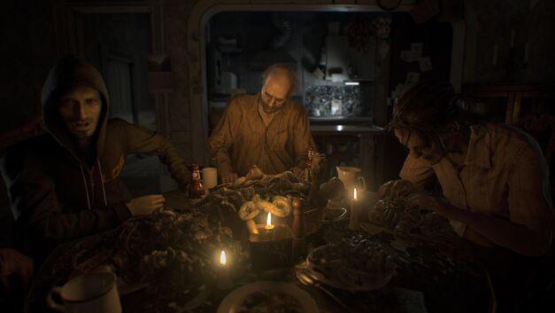 Resident Evil Bakers Dinner