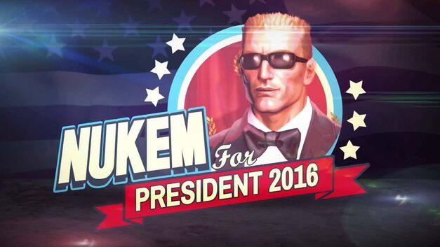 duke nukem president 20th anniversary weekend preview