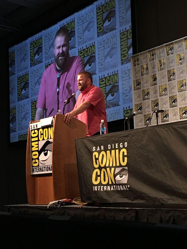 Robert Kirkman Comic Con 2017