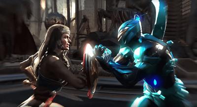 Wonder Woman and Blue Beetle Headline 'Injustice 2' Comic-Con Panel