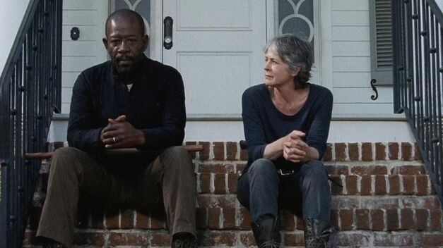 The Walking Dead-Carol-Morgan