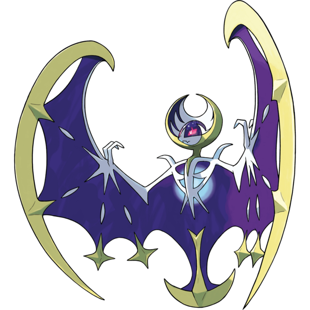 Lunala Pokemon Sun Moon NewMonsters