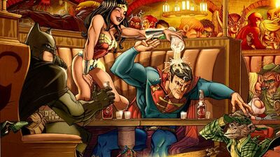 Which Superheroes Could Actually Get Drunk?