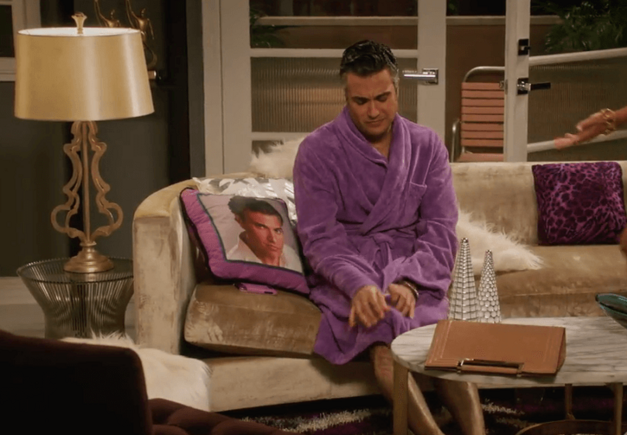 Rogelio pillow Jane the Virgin