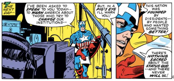 Captain America Status Quo
