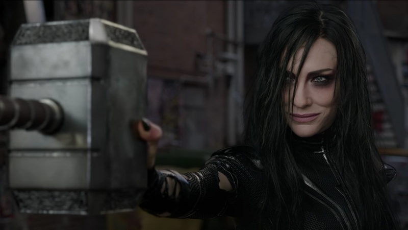 why hela has a very specific hammer to grind in thor ragnarok
