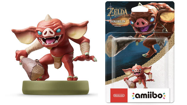Breath of the Wild Bokoblin amiibo