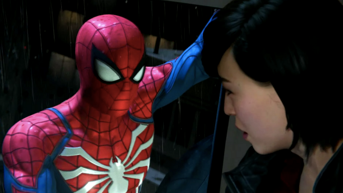 Spider-Man and Yuriko from Marvel's Spider-Man