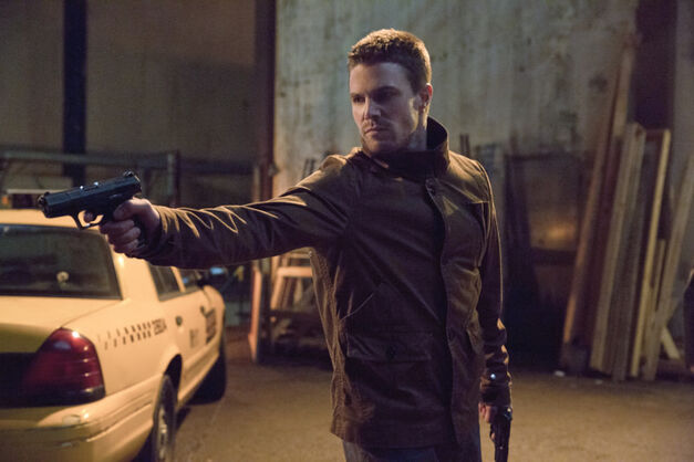 "Arrow episode ""Suicide Squad"" Pictured: Stephen Amell as Oliver Queen Photo: Jack Rowand/The CW"