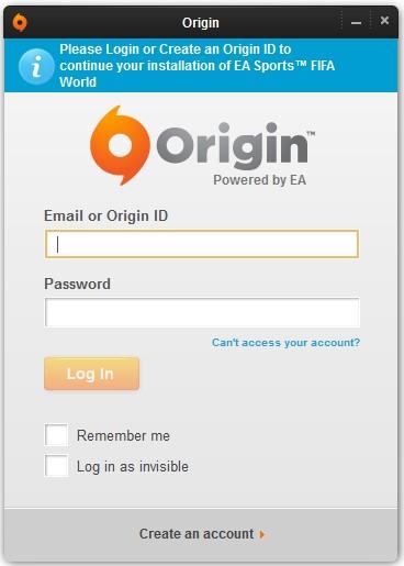 Usuario origin