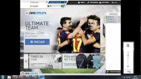 Fifa World - Configurando Controle - 2