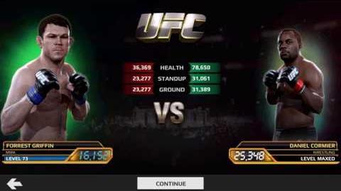 Forrest Griffin vs Daniel Cormier