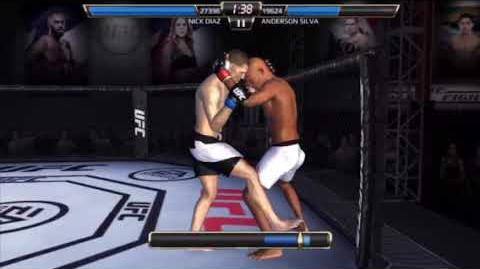 UFC Mobile - How to land Power Overhand